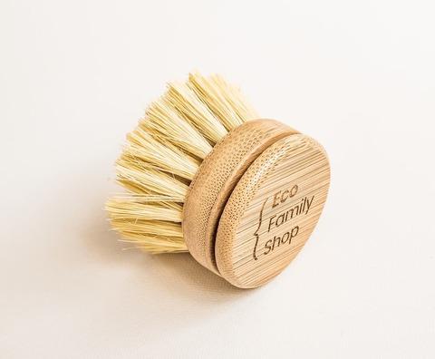 Сменный блок для кухонной щетки на длинной ручке