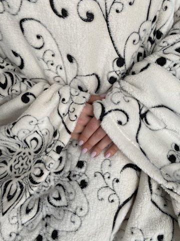 Плед с рукавами Gekoko «Вензеля»-2