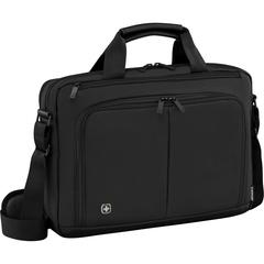 Портфель для ноутбука Wenger 14'', черный, 39x8x25 см, 5 л