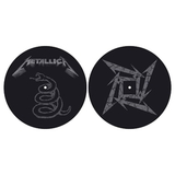 Слипмат Для Проигрывателя Виниловых Пластинок (Metallica - The Black Album)