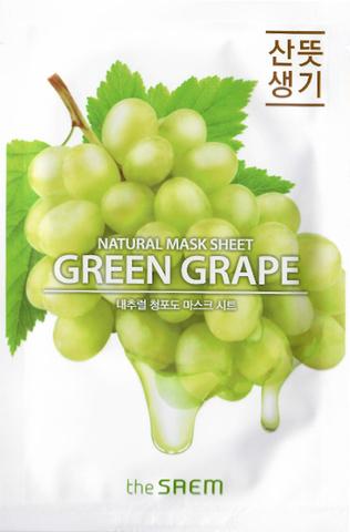 the Saem Natural Green Grape Mask Sheet