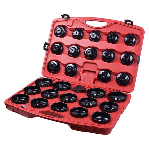 МАСТАК (103-40030C) Набор съемников масляных фильтров, 30 предметов