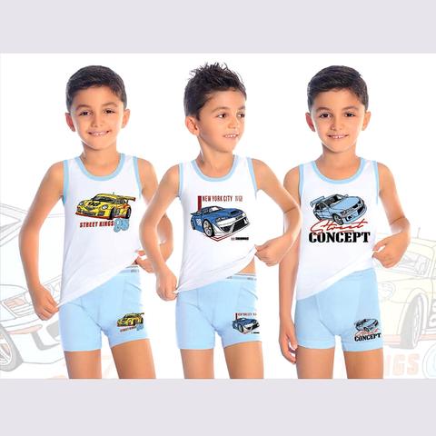 Комплект хлопок мальчику (2-10) 200910-В7620