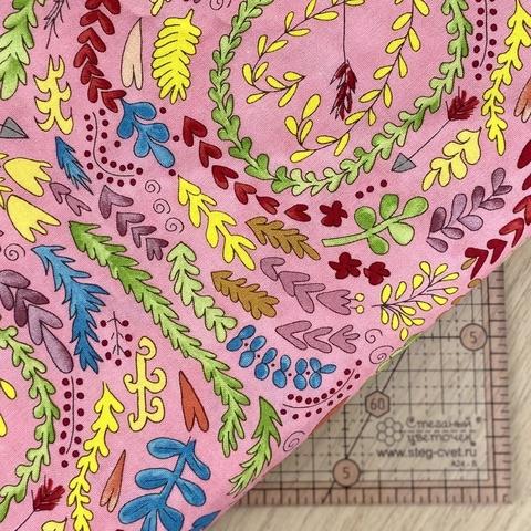 Ткань для пэчворка, хлопок 100% (арт. FS0603)