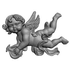 Силиконовый молд № 0083 Ангел 2 D