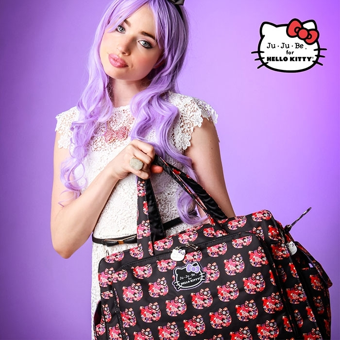 #Дорожная сумка Ju-Ju-Be Be Prepared Hello Kitty Hello Perky