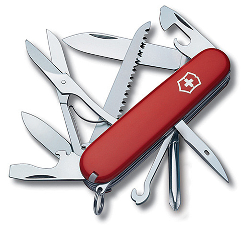 Нож Victorinox Fieldmaster, 91 мм, 15 функций, красный