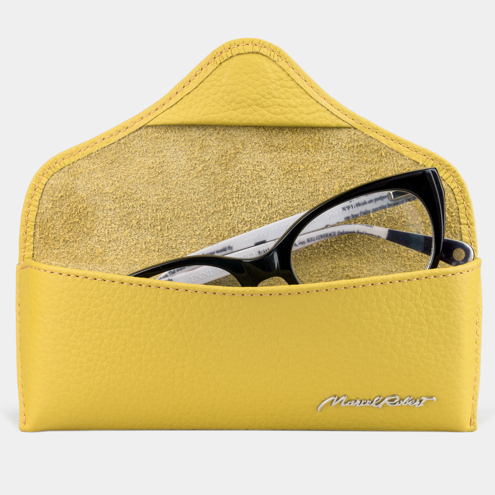 Eyewear pouch - Vision Easy - yellow