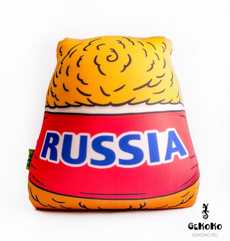 Подушка-игрушка антистресс Gekoko «Медведь-вратарь» 5
