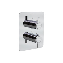 Встраиваемый термостатический смеситель для душа DRAKO 338712S на 2 выхода