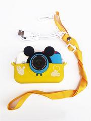 фотоаппарат игрушечный микки маус желтый
