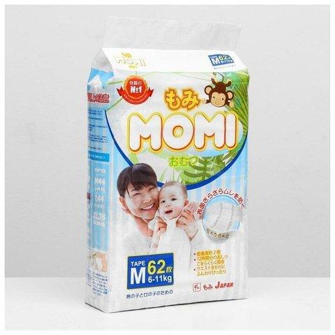 Подгузники MOMI, 6-11 кг (M)