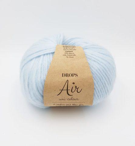 Air drops нежно-голубой