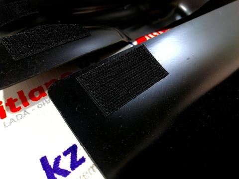 Накладки на ковролин порогов передние Lada XRAY