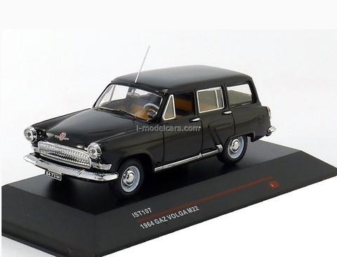 GAZ-M22 Volga black 1964 IST107 IST Models 1:43