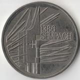 1986 P2968 Швейцария 5 франков Битва у Земпах