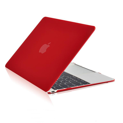 Накладка пластик MacBook Air 13.3 /matte red/ DDC