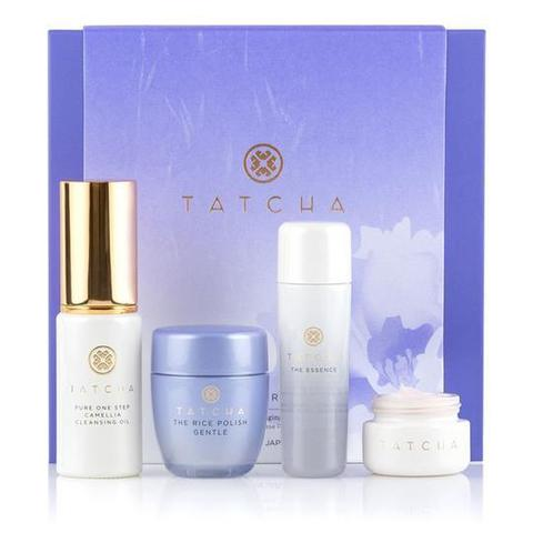 Tatcha The Starter Ritual ultra-hydrating & anti-aging set