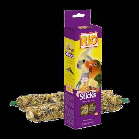Rio Палочки для средних попугаев с медом и орехами
