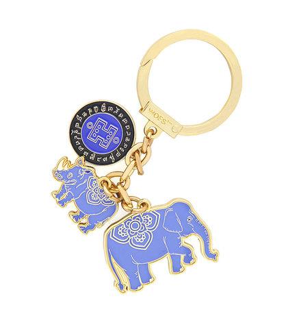 Амулет Синий слон & носорог 2021