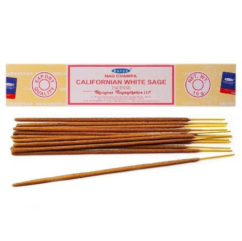 Индийские палочки Satya Californian White Sage