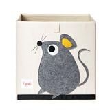 Коробка для хранения 3 Sprouts Мышка (серый)