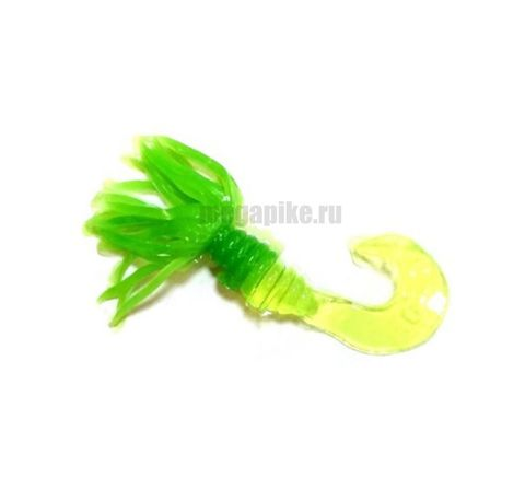 Приманка силиконовая Gene Larew Bobby Garland 1,5'' Crappie Spider (упак. 10 шт.) / цвет  Lime Chartreuse