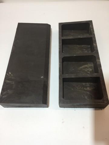 Поребрик полимер песчаный коричневый 500х195х70мм