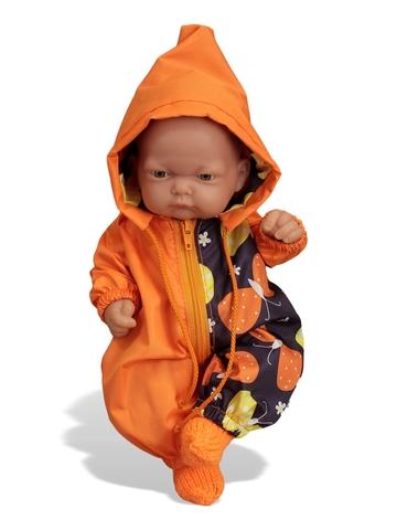 Переноска + комбинезон - На кукле. Одежда для кукол, пупсов и мягких игрушек.