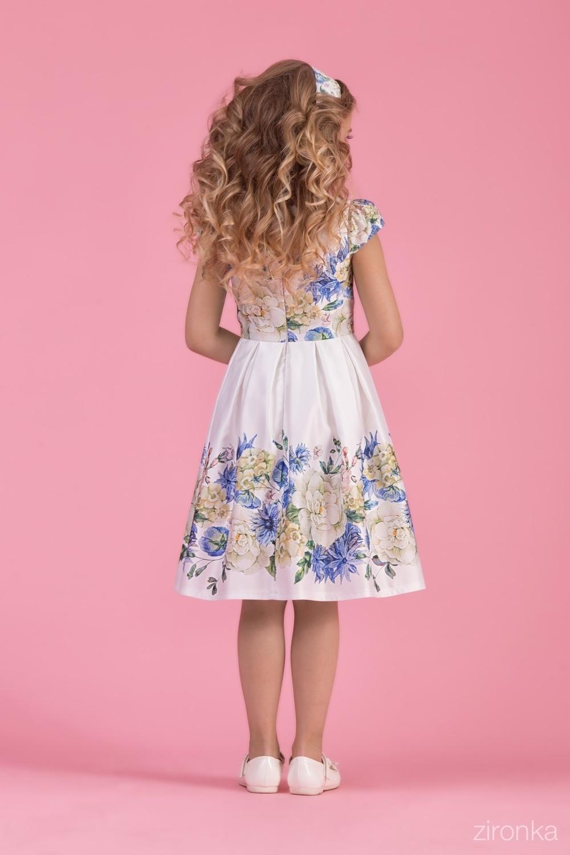 Платье для девочки 38-8002-2