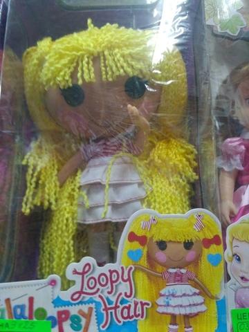 Кукла  Lalaloopsy Loopy Hair с желтыми волосами 30 см