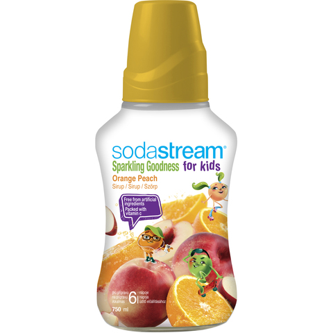Сироп Sodastream Апельсин-Персик For Kids