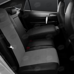 Универсальные авточехлы (черный + серый)