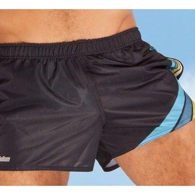 Мужские шорты спортивные черные Aussiebum Score Shorts Black