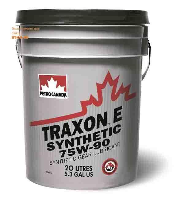 TRE759K60 трансмиссионное масло для МКПП TRAXON E SYNTHETIC 75W-90