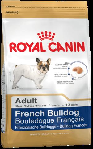 Для собак породы Французский бульдог от 12 месяцев