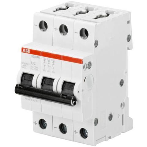 Автоматический выключатель 3-полюсный 32 A, тип C, 10 кА S203MT C32UC. ABB. 2CDS273065R0324