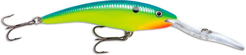 Воблер RAPALA Deep Tail Dancer 9 см,13 г, цвет PRT