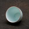Фарфоровая пиала 80 мл, голубая глазурь
