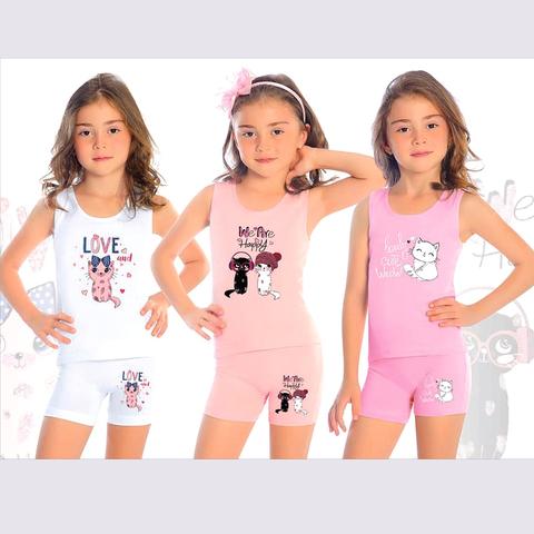 Комплект хлопок девочке (2-10) 200910-В8621