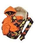 Переноска + комбинезон - Оранжевый. Одежда для кукол, пупсов и мягких игрушек.