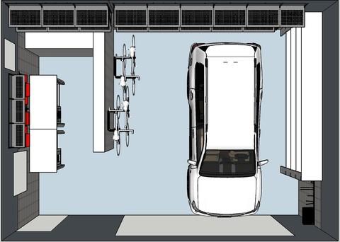 Проект № 20: гараж с мастерской 48 кв.м
