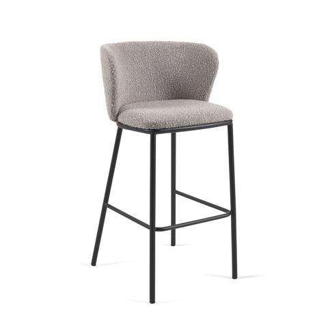 Барный стул Ciselia серый