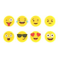 Маркеры для бокалов Emoji 8шт., фото 2