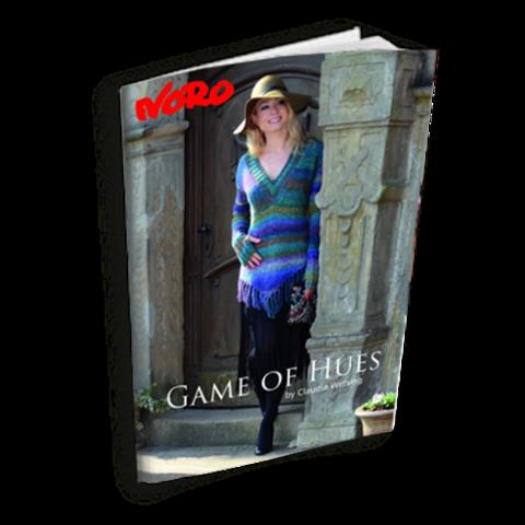 Журнал по вязанию Noro Game of Hues с переводом на русский язык
