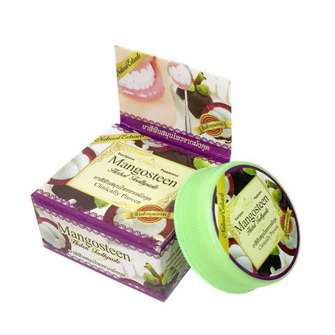 Зубная паста с экстрактом Мангостина Роджана Rochjana Herbal Mangosteen extract 30 гр.