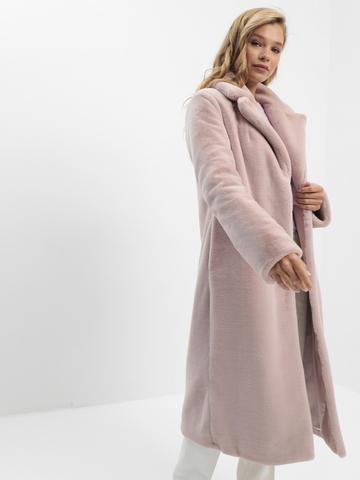 ЭКО-шуба розовая