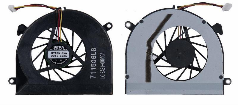 Вентилятор (кулер) для Samsung X22 3pin