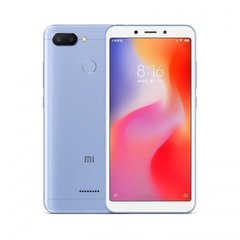 Смартфон Xiaomi Redmi 6 4GB/64GB  Blue (Голубой)