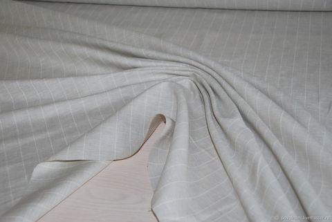 Льняная римская штора Кларин серый